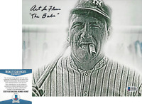 ART LAFLEUR SIGNED THE SANDLOT 'BABE RUTH' 8x10 MOVIE PHOTO B BECKETT COA BAS