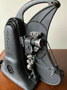 vintage art deco apollo 16 mm sound movie projector