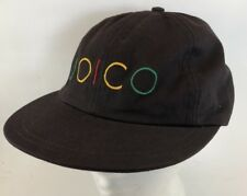 Vtg Joico Hair Care Products Hat Leather Strapback Cap Hairdresser Salon 1980s
