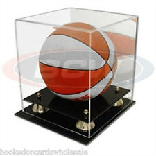 1 BCW Mini Basketball Holder Acrylic Display Case UV Protection
