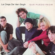 "LA OREJA DE VAN GOGH ""QUE PUEDO PEDIR"" ULTRA RARE SPANISH PROMOTIONAL CD SINGLE"