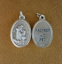 St. FRANCIS PET MEDAL - Small Lightweight Great for Cats