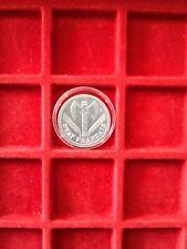 Superbe 2 frs aluminium 1943 rare état a saisir