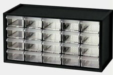 CLEAR BINS - electronic component parts storage organizer cabinet H.DUTY drawers