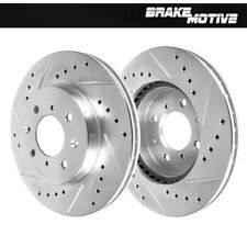 Front Performance Drilled And Slotted Brake Rotors Integra Civic Insight Fit