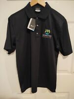 New Monster Producer Men's Small Collared Black NWT