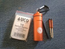 Ultimate Survival B.A.S.E.™ Case 1.0 with UCO StormProof Matches + Firesteel