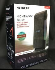 NETGEAR Nighthawk Cable Modem, Voice support CM1150V FOR XFINITY VOICE Free Ship