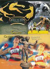 2 Olympic Postcards, Greece.