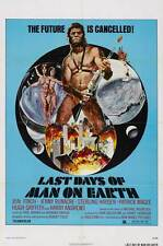 THE LAST DAYS OF MAN ON EARTH Movie POSTER 27x40 Jon Finch Jenny Runacre Hugh