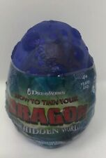 How to Train Your Dragon The Hidden World Egg Plush Purple Meatlug  New Easter