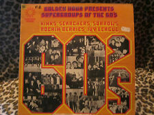 GOLDEN hour-supergroups of the 60´s - LP gh525 (the Kings, The Sorrows ect).