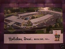 Holiday Inn, Moline, ILL  Postcard