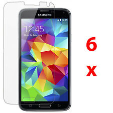 6x Clear LCD Guard Shield Screen Protector Film FOR Samsung Galaxy S5 SV