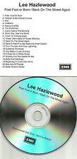 LEE HAZLEWOOD Poet fool / Back on the Streets ADVNCE PROMO DJ TST PRESS CD 2004