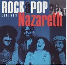 NAZARETH- LEGENDS ROCK & POP. CD.