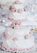 Crochet Pattern ~ MINIATURE WEDDING CAKE ~ Instructions