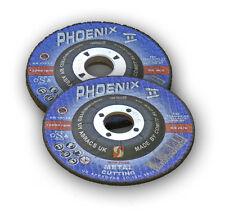 "5x Heavy Duty Cutting Discs Quality Blade 100 x 3 x 16 (4"") Metal Grinding Disc"