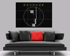 "Azulejo de mosaico Bauhaus Sin Bordes Pared Poster 35"" X 25"""