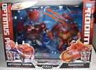 Transformers Animated TA Optimus Prime & Rodimus Figure Takara Tomy Japan New