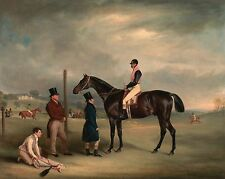 John Ferneley, Euxton, John White, Heaton Park, Race Horse, Jockey, 20x16 Art