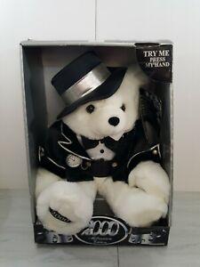Vintage Dan Dee 2000 Millenium Keepsake Special Electronic Talking Teddy Bear