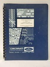 Cincinnati Control Service Manual for Acramatic 335DT Numerical System 35010072A