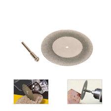 50mm 2 Inch Mini Diamond Cutting Disc Saw Blade for Glass Rotary Tool 1/8