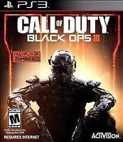 Call of Duty: Black Ops III (Sony PlayStation 3, 2015) VERY GOOD