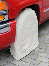 "California Tire Covers: Set of 4 Vinyl Tire Covers: Fit Up To 34"" Diameter Tires"