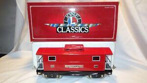 Lionel Classics Standard Gauge 200 Series Red Caboose Train 6-13702 in Box