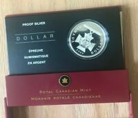 2006 Canada Dollar Silver Proof - Victoria Cross - New In Box