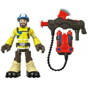 Fisher-Price Rescue Heroes Forrest Fuego 6-Inch Figure with Accessories