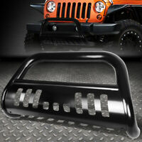 "FOR 18-19 JEEP WRANGLER STAINLESS STEEL 3""BULL BAR FRONT BUMPER GRILL PUSH GUARD"