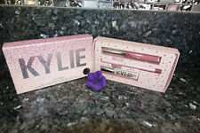 Kylie holiday lip set liquid lipstick liner and lip gloss new in box full size