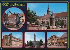 Großenhain in Sachsen , Ansichtskarte, beschriftet