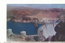 Crest of Hoover (Boulder) Dam  Seen From The Nevada Side   Postcard 11117