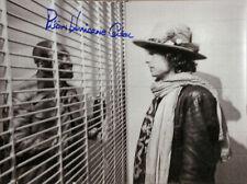 RUBIN HURRICANE CARTER SIGNED 11X14 BOXING PHOTO MEETS BOB DYLAN  PROOF & COA
