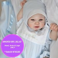 "w// FREE GIFT Reborn kit  Riley unpainted vinyl kit only  so cute 22/"""