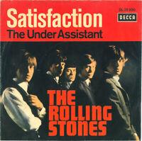 "ROLLING STONES - Satisfaction - Original 1965 German Decca 2-trk 7"" vinyl single"