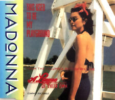 Madonna Maxi CD This Used To Be My Playground - Europe (M/EX+)