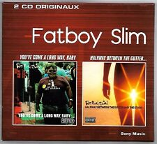 COFFRET 2 CD / FATBOY SLIM - YOU'VE COMME A LONG WAY + HALFWAY BETWEEN THE GUTTE