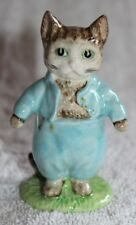 """Beatrix Potter """"Tom Kitten"""" By Royal Doulton - 3.5 Inches Tall"""