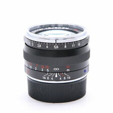 Carl Zeiss C Sonnar T* 50mm F/1.5 ZM Black (for Leica M mount) #110