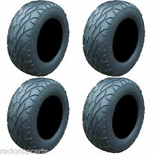 Golf Cart Tires Set of 4, 23x10.00R14 Street Fox Radial Tires Only, Lifted Carts