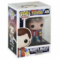 FUNKO POP Films Series: Arrière à the Future; 49: Marty McFly VINYL Pop FIGURINE