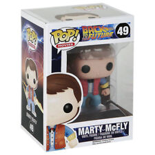 FUNKO POP Movies Series: Back to the Future; 49: Marty McFly VINYL Pop FIGURE