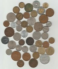 46 World coins 1870 to current
