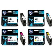 4 HP 2016 DATE 935 CYAN MAGENTA YELLOW & HP 934 INK 6230 6830 BLACK FAST POSTAGE