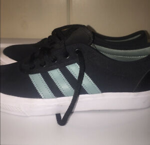 Adidas Authentic 3Tripes Green Men's Sneakers Low Top Shoes Sz 8.5 Suede